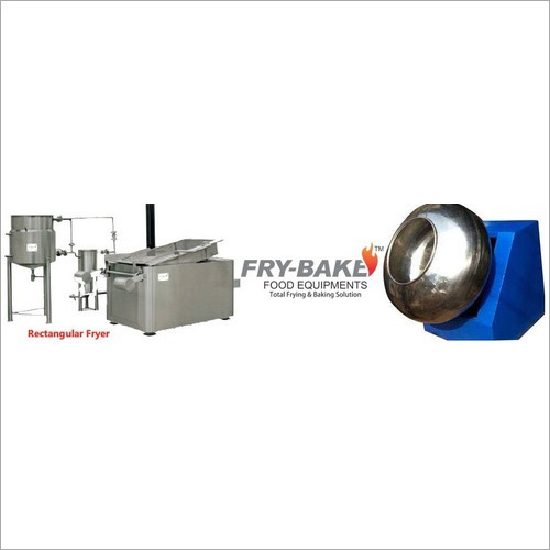 Batch Type Pellet Frying System