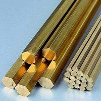 Brass Extrusion Hex Rod