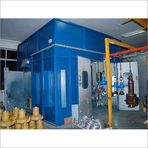 Industrial Liquid Painting Booth