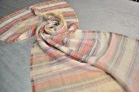 Fine Wool Zari Space Dyeing Stole
