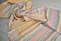Fine Wool Zari Space Dyeing Stole