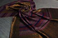 Fine Wool Zari Space Dyeing Shawls