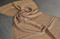 Fine Wool Zari Self Design Stole