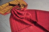 Fine Wool Zari Reversible Stole