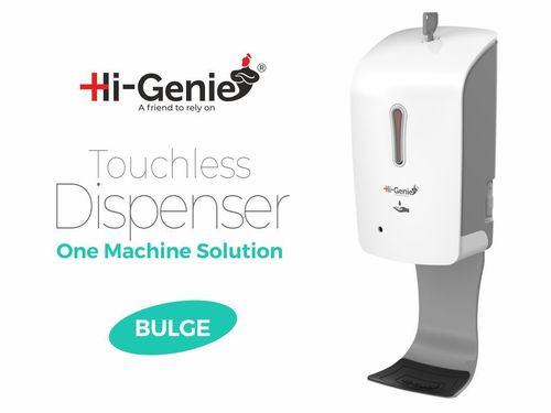 Bulge Touchless Automatic Sanitizer Dispenser