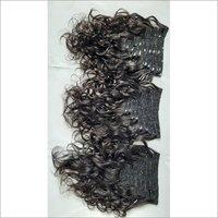 Unprocessed Wavy Raw Virgin Hair,Clip in Hair