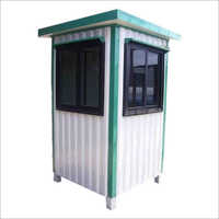Square Portable Security Cabin