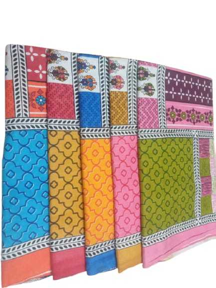 Remtex Cotton Jaipuri Printed Bed Sheets