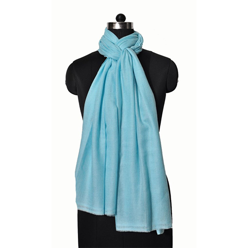 Wool Nylone Single Ply Stole