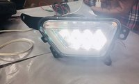 Car Led Fog Light With Drl Day Running Light For New Mahindra Xuv300