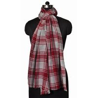 Wool Nylon Check Stole