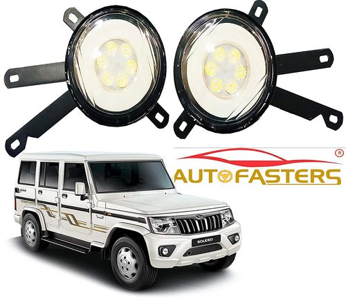 Car 6 Led Fog Light For New Mahindra Bolero Model 2020 (White)