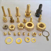Brass Metal Nuts Bolts And Washers
