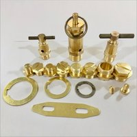 Brass Compressor Valve Parts And Components
