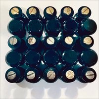 Black Coated Brass Knob