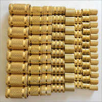 Brass Knurling Moulding Inserts