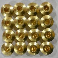 Precision Brass Pressure Regulator Body Parts