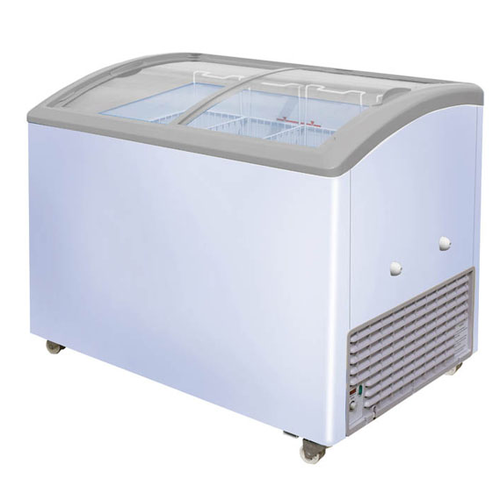 Curved Glass Top - Chest Freezer