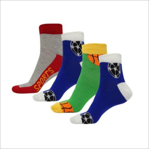 Womens Sports Multi Colors Ankle Socks