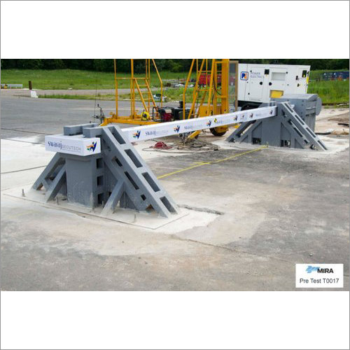 Gajraj 8 K8 Crash Rated Boom Barrier