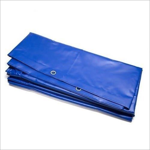 Blue PVC Coated Tarpaulin
