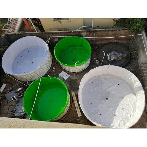 4 mtr Biofloc PVC Fish Tank