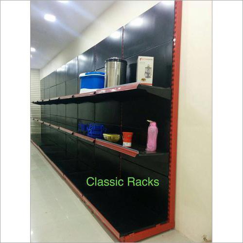 Open Storage Mild Steel Wall Rack