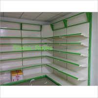 Glass Supermarket Racks