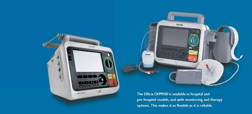Defibrillator Biphasic with AED External pacing