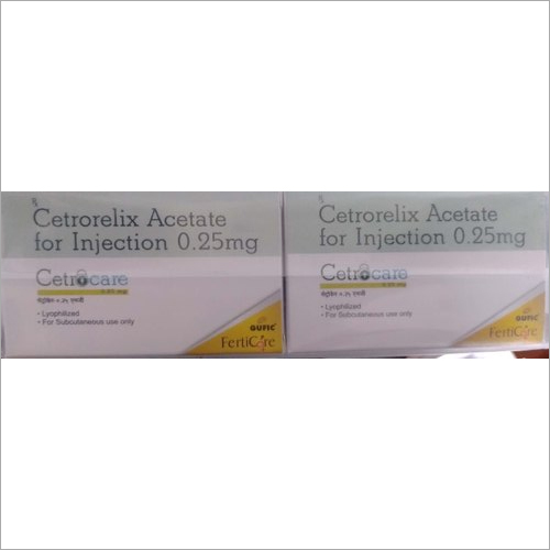 0.25mg Cetrorelix Acetate For Injection