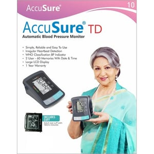 AccuSure TD Automatic Blood Pressure Monitor