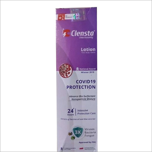 Clensta COVID-19 Protection Lotion
