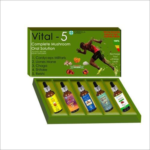 Vital-5 Complete Mushroom Oral Liquid