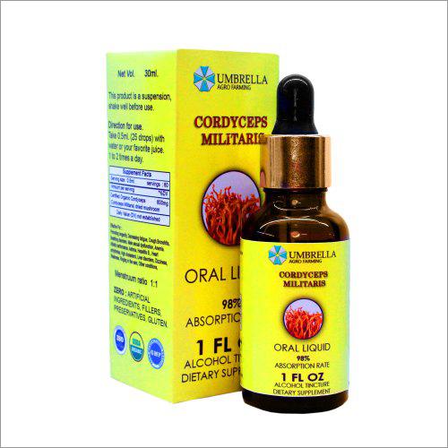 Cordyceps Oral Liquid Solution 30 ml
