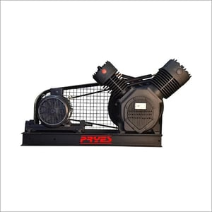 10 HP PRYES Base Mounted Oil Free Compressor