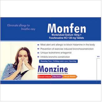 Monzine Tablets