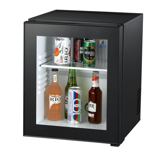 GLASS DOOR MINI FRIDGE