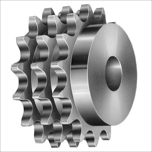 Mild Steel Triple Chain Sprocket