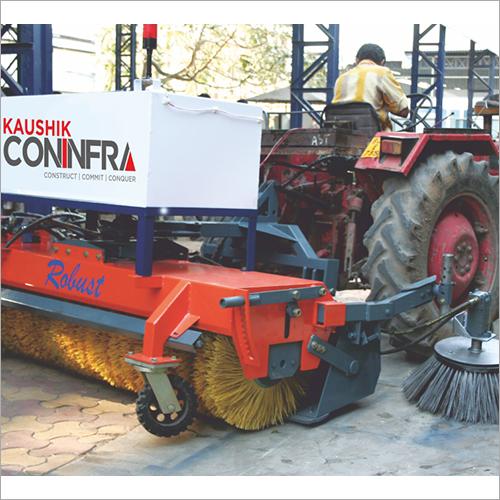 Hydraulic Road Broomer Machine