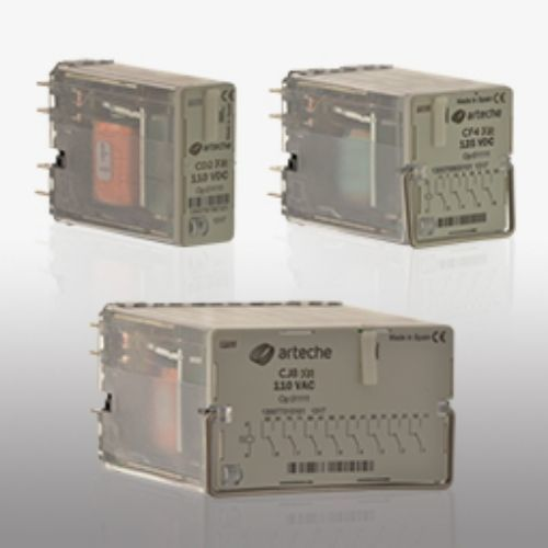 Arteche Contactor relays with coil protection Arteche Contactor relays