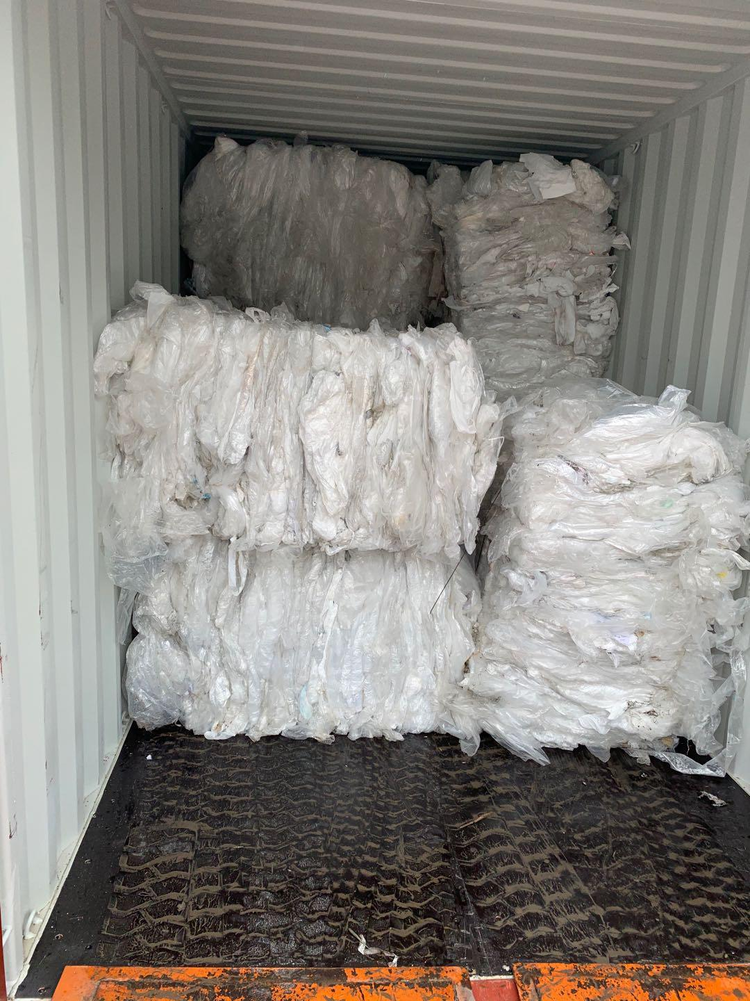 LDPE Plastic Recycling Raw Material