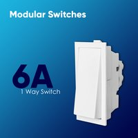 6A 1 Way Switch