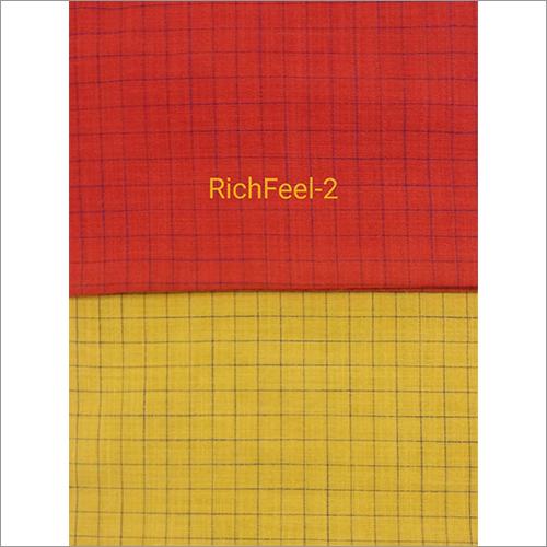 Rich Feel Check Fabric