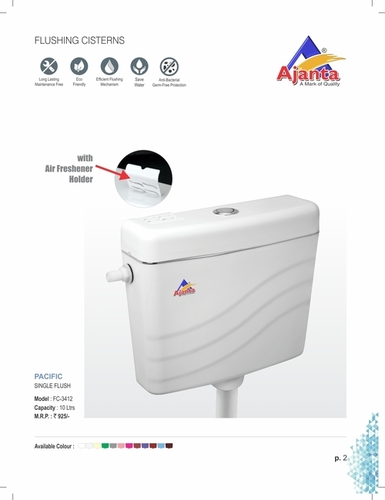Pecific Single Cistern