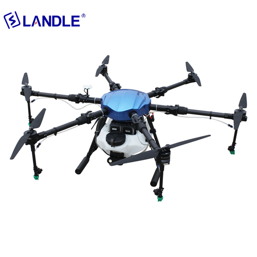 NSA610 Multi-Rotor Uav Drone With Camera Agriculture For Fertilizer