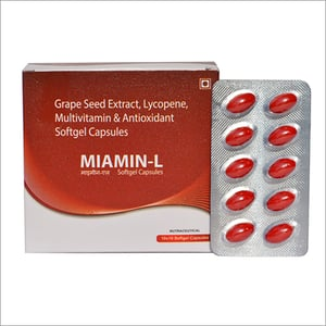 Grape Seed Extract Lycopene Multivitamins and Antioxidant Softgel Capsules