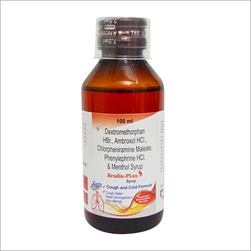 Dxtromethorphan HBR Ambroxol HCI Chlorpheniramine Maleate Phenylephrine HCI and Menthol Syrup