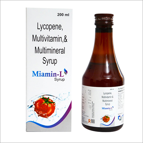 Lycopene Multivitamins and Multimineral Syrup
