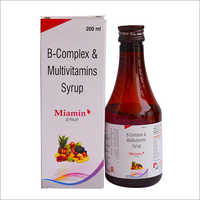 B-Complex and Multivitamins Syrup