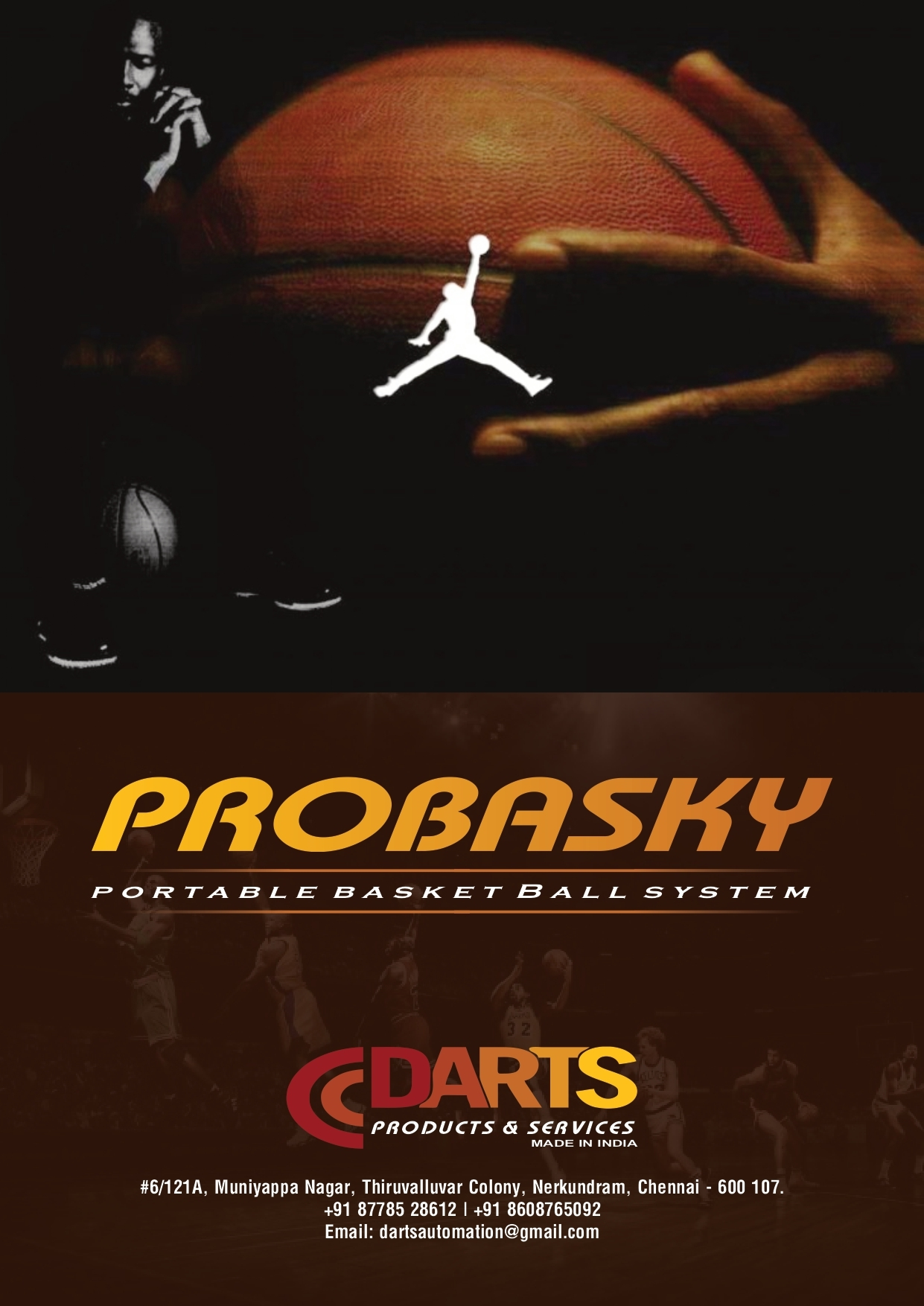 PROBASKY -PORTABLE BASKETBALL UNIT
